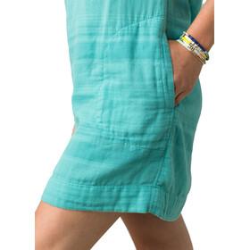 Prana Kai Dress Women retro teal stripe
